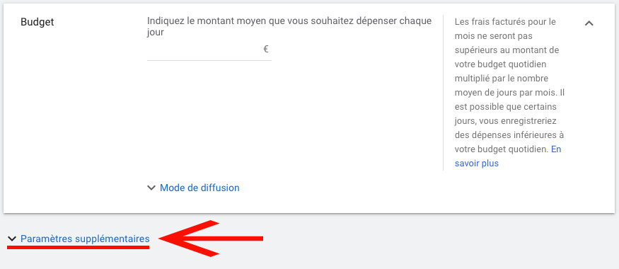 Capping sur campagne Google Ads